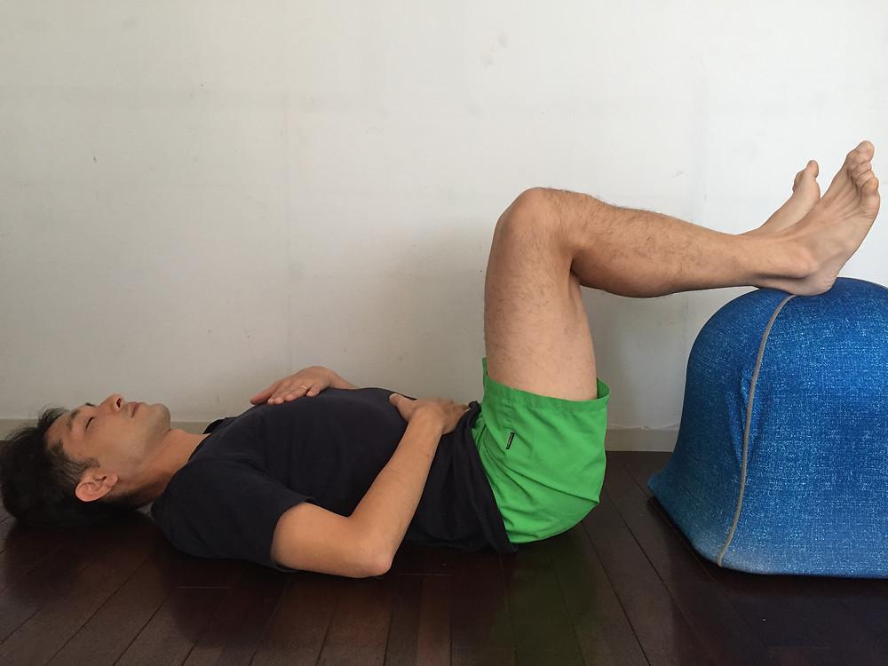 横隔膜呼吸練習法