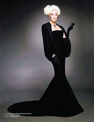 ファッション業界最高齢の現役スーパーモデル カルメン・デロリフィチェ 85歳