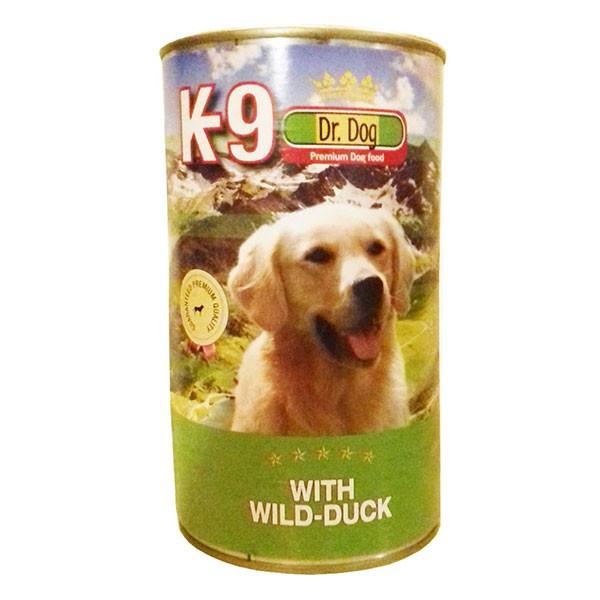 K-9 konzerva dr.dog sa okusom patke, mokra hrana za pse