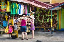Caribbean shopping