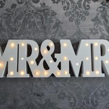 Mr & Mrs Light up