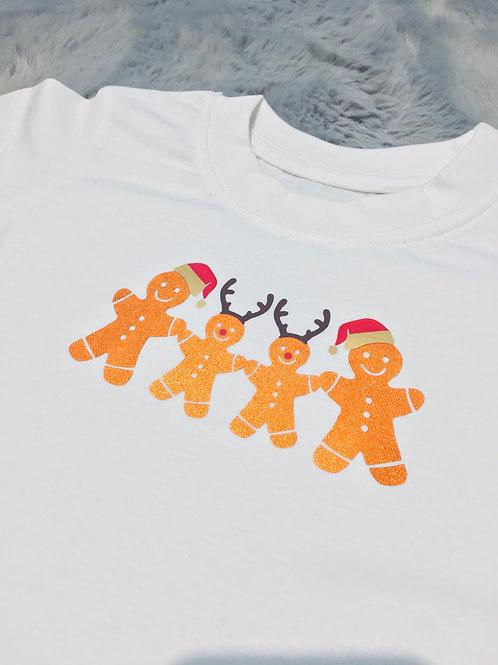 Ginger Bread Family Baby Vest Pre-Order
