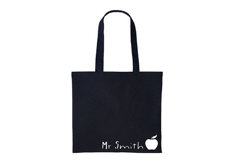 Personalised Teachers Name Bag