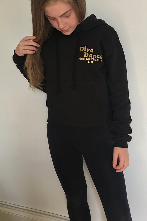 Diva Dance Cropped Hoodie