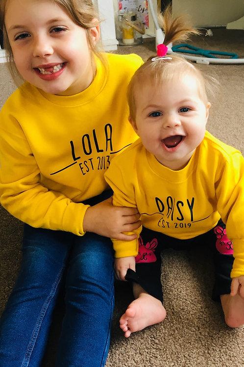 Babies EST Sweatshirt Set