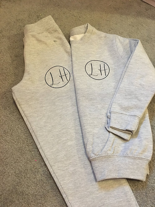 Kids Personalised Signature Joggers Set