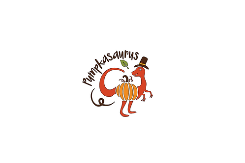Pumpkasaurus Tee