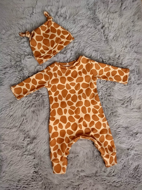 Romper & Hat Baby Bundle