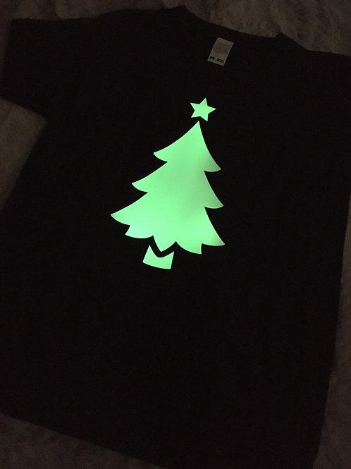 Glow in the Dark Christmas Tree Tee Pre-Order
