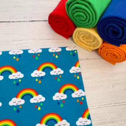 Sleepy Rainbows Print