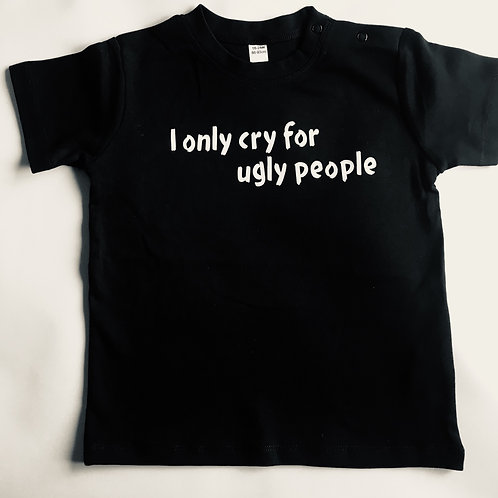 I only cry Tee