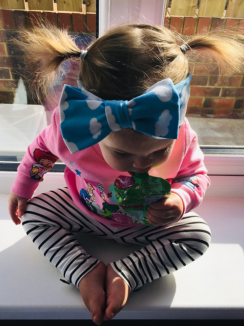 Handmade Bow Headband