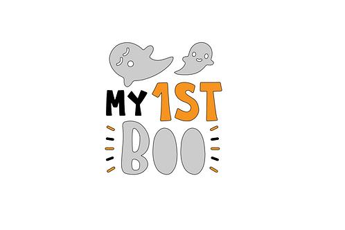 My 1st Boo Baby Vest