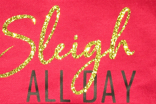 Sleigh All Day Baby Vest