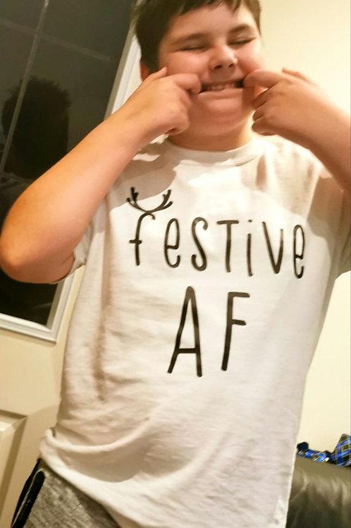 Festive AF Tee Pre-Order
