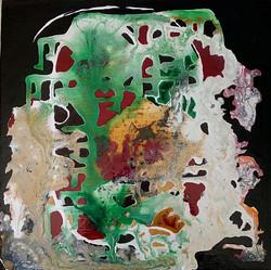 Abstraction sur toile (Brigitte)