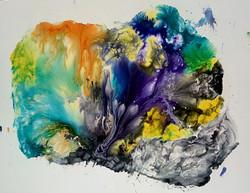 Peinture laque/encres Sénelier