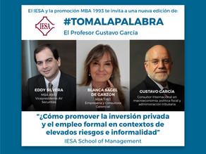 Toma la Palabra: El Profesor Gustavo García