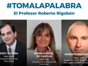 """#TomaLaPalabra con el Prof. Roberto Rigobón """"PROMISE: Bases y elementos para un futuro sostenible"""""""