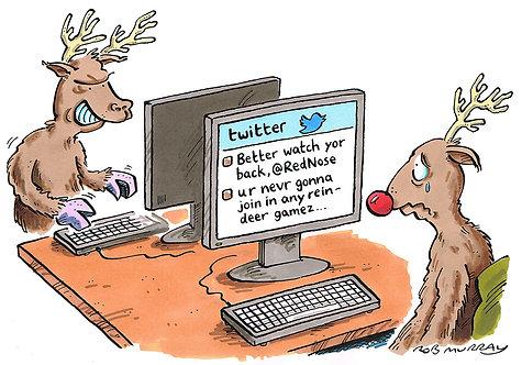 Rudolph on Twitter
