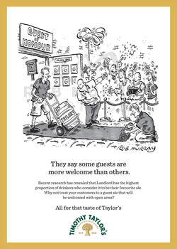 Timothy Taylor's - sales campaign