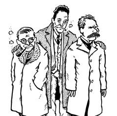 Sartre, Camus, Nietzsche