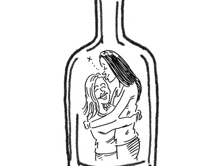 Bottle Moments: Cartoons for Key Workers