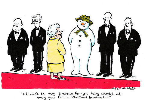 The Snowman meets the Queen