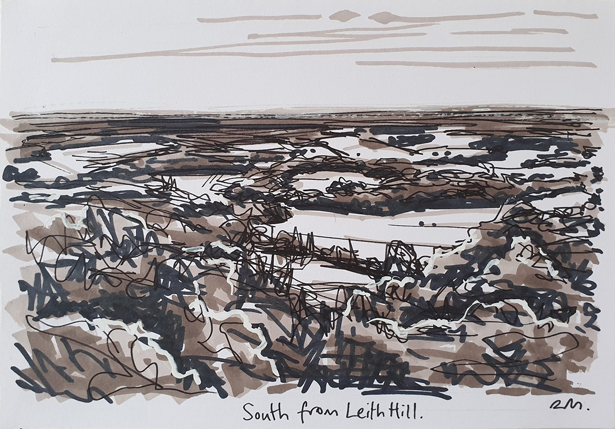 South from Leith Hill