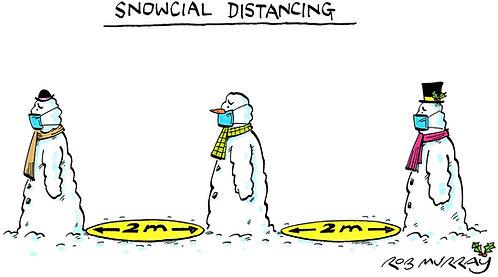 Snowcial Distancing