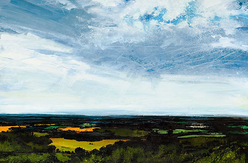 Breaking Through (South from Leith Hill)