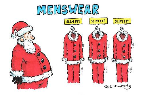 Slim Fit Santa