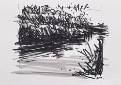 Deep Bank (Curving River Wey)