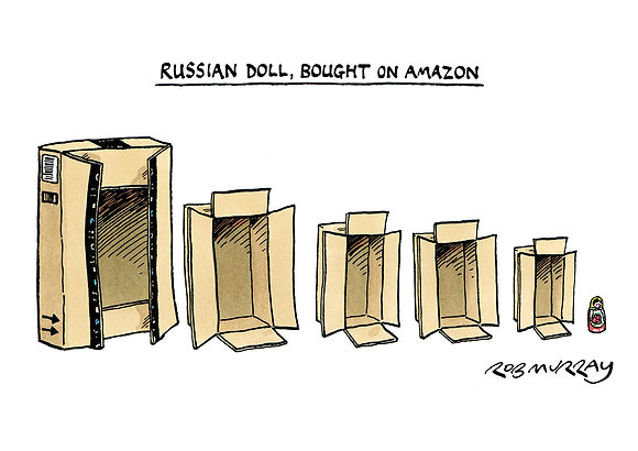 Russian Doll, Bought on Amazon