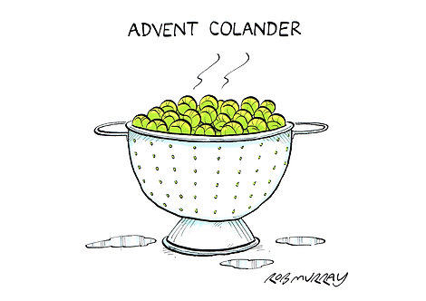 Advent Colander