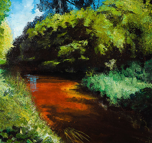 The River Lark, Late Summer (limited edition)