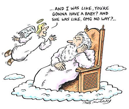 God & The Archangel Gabriel