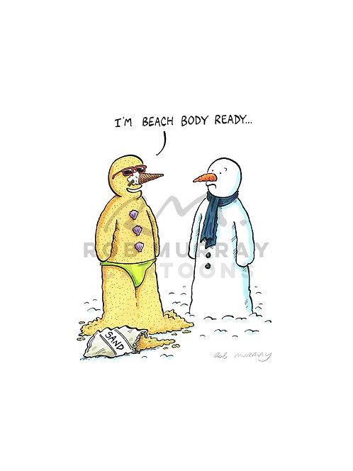 'I'm beach body ready...'