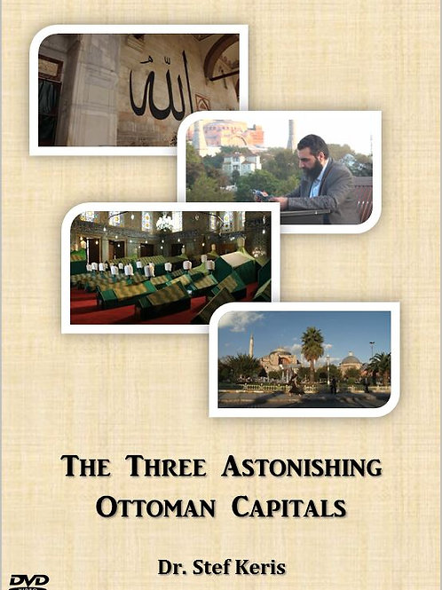 Digital Copies Only - The Three Astonishing Ottoman Capitals DVD