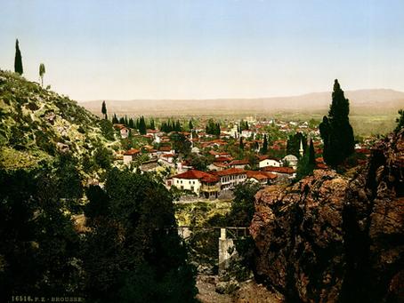The Three Ottoman Capitals