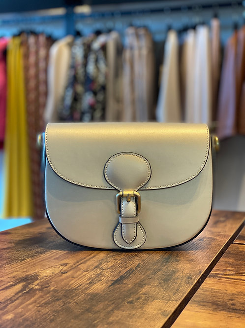 Borsa Sand Perlato Dior Style  in Pelle