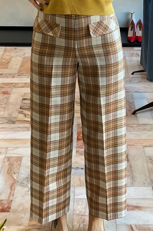 Pantalone stampa Check cod.KA068