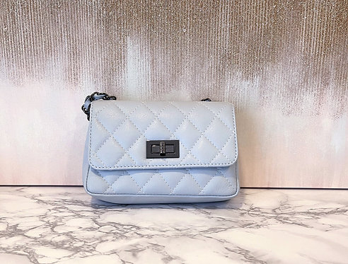Borsa Azzurra Chanel Style Misura Mini