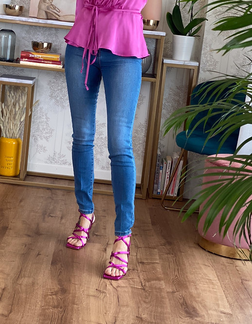 Jeans Skinny a vita alta cod.MA