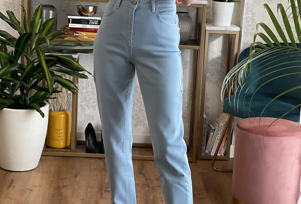 Pantalone Azzurro cinque tasche cod.KKT03