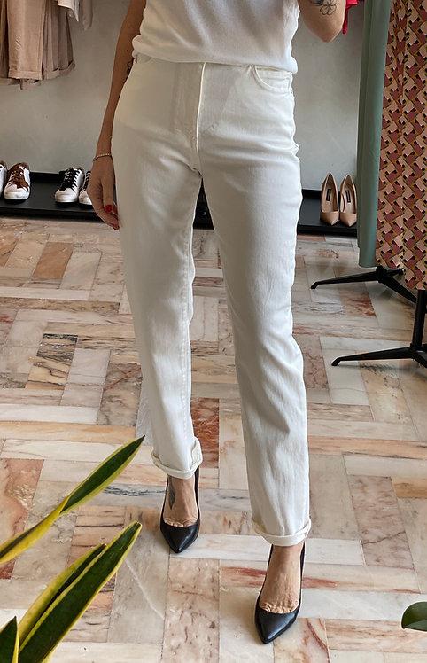 Pantalone Bianco cinque tasche cod.KKT03