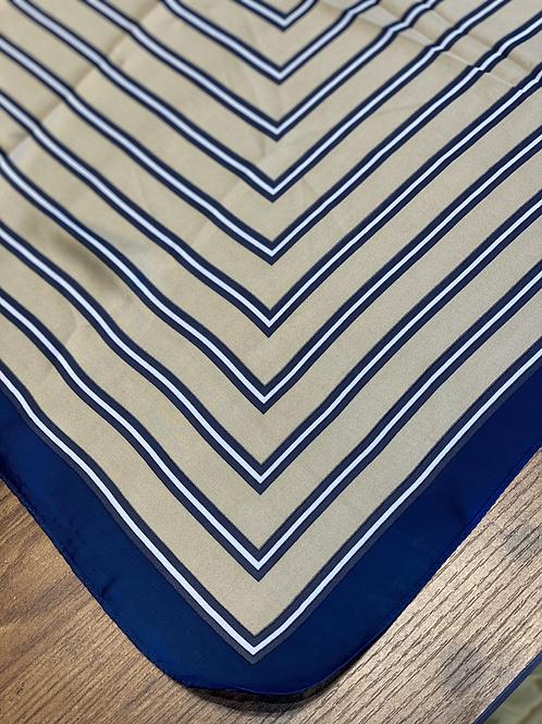 Foulard Regimental Blu