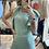 Thumbnail: Tuta colore Acquamarina con volant cod.YD7264