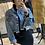 Thumbnail: Giubbino in jeans Sfrangiato - tg UNICA