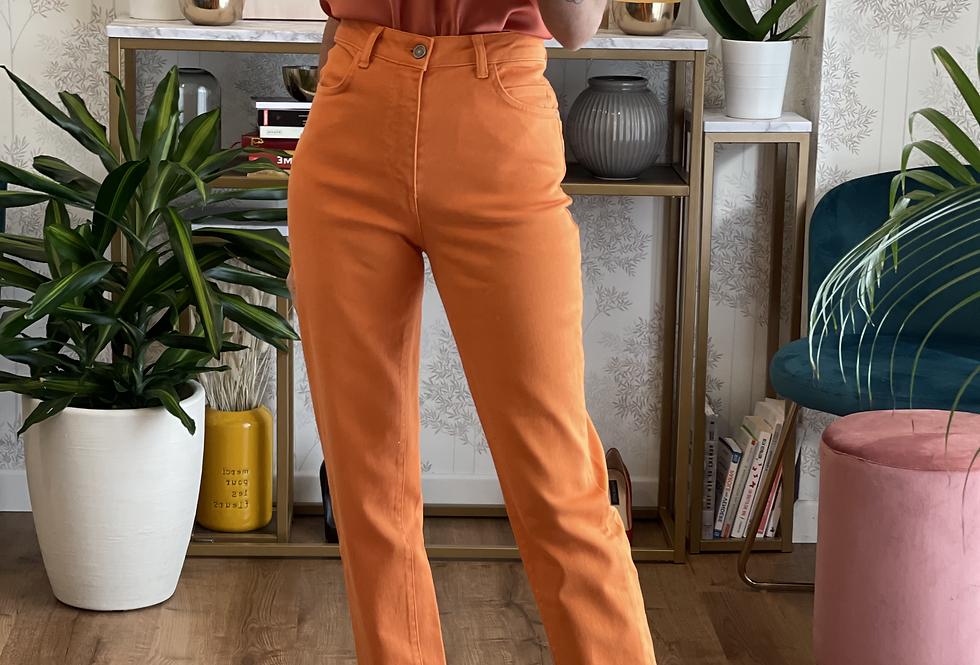 Pantalone Arancione cinque tasche cod.KKT03 ULTIMO TG.44